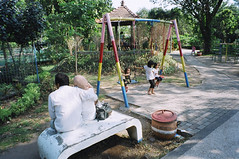 (Cak Bowo) Tags: snapshot playground street streetphotography surabaya eastjava indonesia fujifilmzoomdatef28 fujifilmsilvif28 zoomdatef28 silvif28 pointandshoot pocket compact film kodak colorplus kodakcolorplus200 kebunbibit kebunbibitwonorejo wonorejo