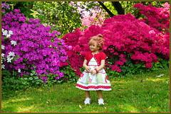 Sanrikes ... Blütenträume ... (Kindergartenkinder 2018) Tags: gruga grugapark essen azaleen kindergartenkinder sanrike annette himstedt dolls