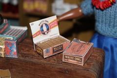 Cigar? (Crazyquilter) Tags: ponosmarket generalstore miniatures diorama dollhouse 19scale printables vintagepackaging vintagedisplays