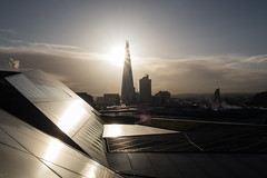 One New Change (Spannarama) Tags: morning morninglight sunshine flare contrejour clouds winter shard rooftop onenewchange london uk reflections steam