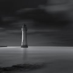 Light on the Lighthouse (paulantony2) Tags: seascape nikon monochrome blackandwhite d7100 coast lee 10stop uk seafront fineart