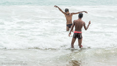 Seaside-9.jpg (Karl Becker Photography) Tags: india odisha gopalpur nikon seaside ocean boy youngman man male shirtless speedo sports swimming