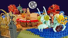 The Coraline Magical Garden - LEGO Stop Motion Trailer (buggyirk) Tags: coraline laika stopmotion stop motion animation 3d garden greenhouse praying mantis tractor movie book jones henry selick neil gaiman dakota fanning teri hatcher john hodgman keith david robert bailey jr victorian video cat