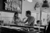 Among friends (Papaye_verte) Tags: couple portrait candid café restaurant montréal québec canada