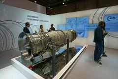 Eurofighter Triebwerk (Lutz Blohm) Tags: triebwerke eurofighter a350900 a400m ila2018 internationaleluftfahrtausstellung zeissbatis18mmf28 berlinschönefeld sonyalpha7aiii