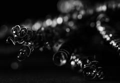 Steel Worms - Low Key for Macro Mondays (VintageLensLover) Tags: hmm macromondays makroaufnahme lowkey edelstahl edelstahlspäne metall metallspäne