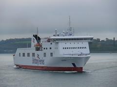 18 05 07 BF Connemara  1st arrival  (5) (pghcork) Tags: corkharbour cork ferry carferry connemara brittanyferries ireland 2018