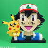 Ash & Pikachu (BrickinNick) Tags: lego pokemon go ash ketchum pikachu portrait model kit custom build twitch brickbuilding