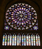 South Rose window with saints - Notre Dame Cathedral (Monceau) Tags: rosewindow stainedglass window christ apocalypse saints notredamecathedral paris notredamedeparis