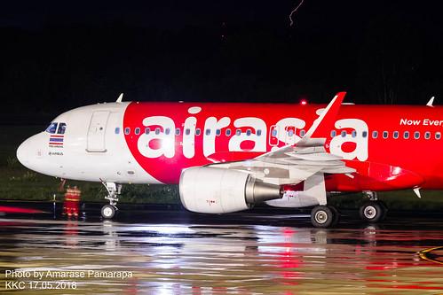 HS-BBL // Thai AirAsia Airbus A320-216