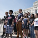 Students speaking out against gun violence