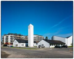 Jessheim kirke (Krogen) Tags: norge norway norwegen akershus romerike ullensaker jessheim kirke church krogen panasoniclumixgx7