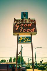 Breakfast at the Poodle Dog (Thomas Hawk) Tags: america fife poodledog poodledogdiner tacoma thepoodledog usa unitedstates unitedstatesofamerica washington washingtonstate diner neon us fav10 fav25 fav50 fav100