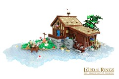 Sandyman´s Mill (-Balbo-) Tags: lego moc sandyman´s mill hobbit lordoftherings hobbiton shire creation bauwerk auenland balbo bag end green dragon inn bilbo frodo gandalf exploring the