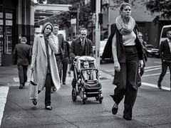 Sydney CBD Role Reversal (Laith Stevens Photography) Tags: rolereversal juxtaposition streetphotography blackandwhite malevsfemale modernman modernwoman olympus omd olympusinspired omdem1 olympusomd olympusau outdoor olympusaustralia omdem1mkii olympusuk olympusflickraward olympususa street emasculated empowered goneawol getolympus greatphotographers ngc nsw naturallight natural cool city australia visitnsw visitaustralia bw bokeh beautiful bright morning monochrome moody rushhour morningrush dailygrind