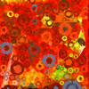 Bubblicious XXIV (Ross Studio) Tags: red orange blue yellow circles bubbles background abstract design backdrop artistic wallpaper decoration texture pattern art decorative color illustration colorful contemporary paint grunge wave swirl messy grungy graphic anthonyross publicdomain abstractart abstractdesign backgrounds backdrops bright digitalillustration energy ethereal geometric sphere vibrant vivid wild