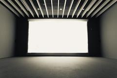 Cinema (Markspitz15) Tags: cine grande gran angular arte estructura arquitectura blanco vacio espacio museo