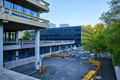 Ruhr-Universität Bochum, Gebäude GD (Databo) Tags: bochum ruhruniversität gebäude architektur greihe gd baustelle