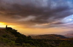 View to Lake Abaya (Rod Waddington) Tags: africa african afrique afrika äthiopien ethiopia ethiopian etiopia ethiopie etiopian landscape south lake abaya dareshe omo sunset clouds water houses building outdoors view