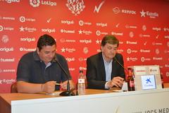Emilio Viqueira s'acomiada del Nàstic