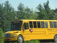 Freeman Bus Corp. #36 (ThoseGuys119) Tags: freemanbuscorp schoolbus watertownny thomasbuilt freightliner fs65 c2 saftliner yellowbumpers