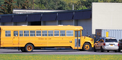Freeman Bus Corp. #95 (ThoseGuys119) Tags: freemanbuscorp schoolbus watertownny thomasbuilt freightliner fs65 c2 saftliner yellowbumpers