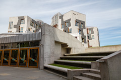 Scottish Parliament Tour May 2018 (81 of 119) (Philip Gillespie) Tags: scottishparliament visitscotparl scotland parliament edinburgh canon 5dsr architecture windows lights tour seats flags dog pets water interior design hills arthurs seat city sky sun art sculpture mono monochrome colour color black white blue green red yellow orange stairs boat style curves lines chamber epmg photography meetup group people men women boys girls kids chambers meetings summer grass trees