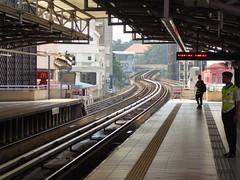 Heat of the Day (m_artijn) Tags: mrt station stop heat day tracks majid janek kuala lumpur mys