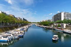 Bassin de l'Arsenal (slam.photo) Tags: paris spring printemps 75004 bassin arsenal bastille seine river
