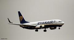 Ryanair EI-FZB J78A1490 (M0JRA) Tags: ryanair eifzb manchester airport planes flying jets biz aircraft pilot sky clouds runways
