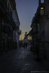 Calle Aguiar, Havana Cuba (Snappy_Snaps) Tags: cuba havana caribbean calleagular agularstreet parquemartiresdel71 sunset neighbourhood oldhavana historiccity historicstreet cobblestonestreet