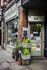 Funny flower shop (tootdood) Tags: canon6dmkii streetart manchester tibstreet funny flower shop chalk board