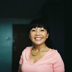Ling Ling (poavsek) Tags: tacloban city philippines hasselblad zeiss kodak film hotel