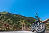 早明浦ツーリング (Hiro_A) Tags: bike motorcycle motorbike yamaha sr400 sameura kochi tosa shikoku japan sony rx100m3 bridge mountain landscape sky touring