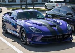 Purple (Hunter J. G. Frim Photography) Tags: supercar dallas texas srt viper gts purple v10 american manual srtviper srtvipergts