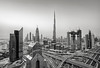 The City of Glass and Steel! (Aleem Yousaf) Tags: happy dawn morning sunrise tall khalifa burj photography emirates united arab travel dubai world mono town downtown d810 long esposure neutral density filter building architecture dusit thani design candid nikkor cityscape hotel shangrila terrace skyscraper skyline nikon new asia middle east lines gulf style digital panorma vantage point emaar standrd chartered ghost ton tower blocks