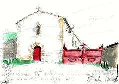 Voyage à Montigné, en Mellois, en Poitou (Croctoo) Tags: croctoo croctoofr croquis crayon aquarelle watercolor campagne poitou poitoucharentes mellois montigné