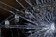 Nightime Big Wheel (Gill Stafford) Tags: gillstafford gillys england merseyside liverpool bigwheel eye wheel recreation pleasure ride night