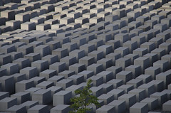 Holocaust Memorial, Berlin (Paul Cook59) Tags: berlin memorial holocaust germany blocks
