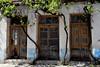 Τhree in a row (Arianeta LIB) Tags: doors crete greece abandoned