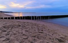 Ostseeküste bei Warnemünde. (dannysch) Tags: ostsee baltic sea meer canon eos 80d ef 16354 langzeitbelichtung sand strand wasser küste