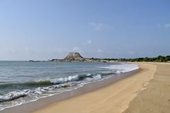 Yala's Sands (Miriam Christine) Tags: yalanationalpark srilanka naturereserve beach sand sandy ocean water sea mountains framed seascape waterscape beachscape