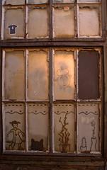 Kunst auf Rost (Weltbürgerin) Tags: deutschland duisburg landschaftsparkduisburg rost kunst fenster