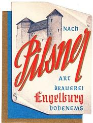 Austria - Engelburg Bräu (Hohenems) (cigpack.at) Tags: austria österreich engelburg bräu hohenehms pilsner 1948 bier beer brauerei brewery label etikett bierflasche bieretikett flaschenetikett