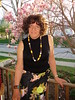 When The Magnolia Is Blooming . . . (Laurette Victoria) Tags: magnolia spring milwaukee laurette woman necklace curly brunette
