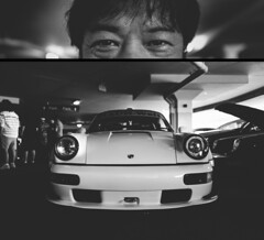 my.name.is.Akira (jonathancastellino) Tags: toronto portrait diptych akiranakai rwb porsche tuner widebody japan aircooled custom leica q series name face eyes lights front japanese