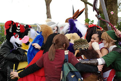 SAM_8706.jpg (Silverflame Pictures) Tags: hondachtigen draak costumeplay fukumi cosplay pokémon ninetales 2018 furry april canine dragon furrie costume grouppicture