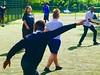 """Over there"". (gerrypopplestone) Tags: football footy localpark sportspastimes camberwell lambeth recreation"