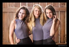 Goddess Collective - Mountain Springs (madmarv00) Tags: d600 goddesscollective lasvegas nevada nikon girls kylenishiokacom models women jill wonderhussy jessica fence skirts blouse portrait groupportrait