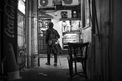 OUTSIDE (ajpscs) Tags: ajpscs japan nippon 日本 japanese 東京 tokyo city people ニコン nikon d750 tokyostreetphotography streetphotography street seasonchange spring haru はる 春 2018 shitamachi night nightshot tokyonight nightphotography citylights tokyoinsomnia nightview monochromatic grayscale monokuro blackwhite blkwht bw blancoynegro urbannight blackandwhite monochrome alley othersideoftokyo strangers walksoflife omise 店 urban attheendoftheday urbanalley outside